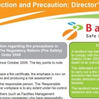 Barbour download: fire protection and precaution