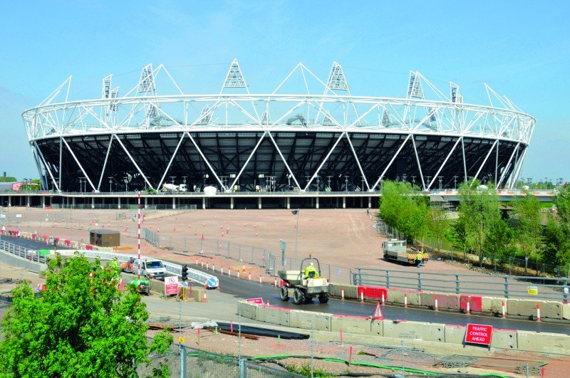 Worker engagement was a key element in the excellent safety record at the Olympic Park in 2012