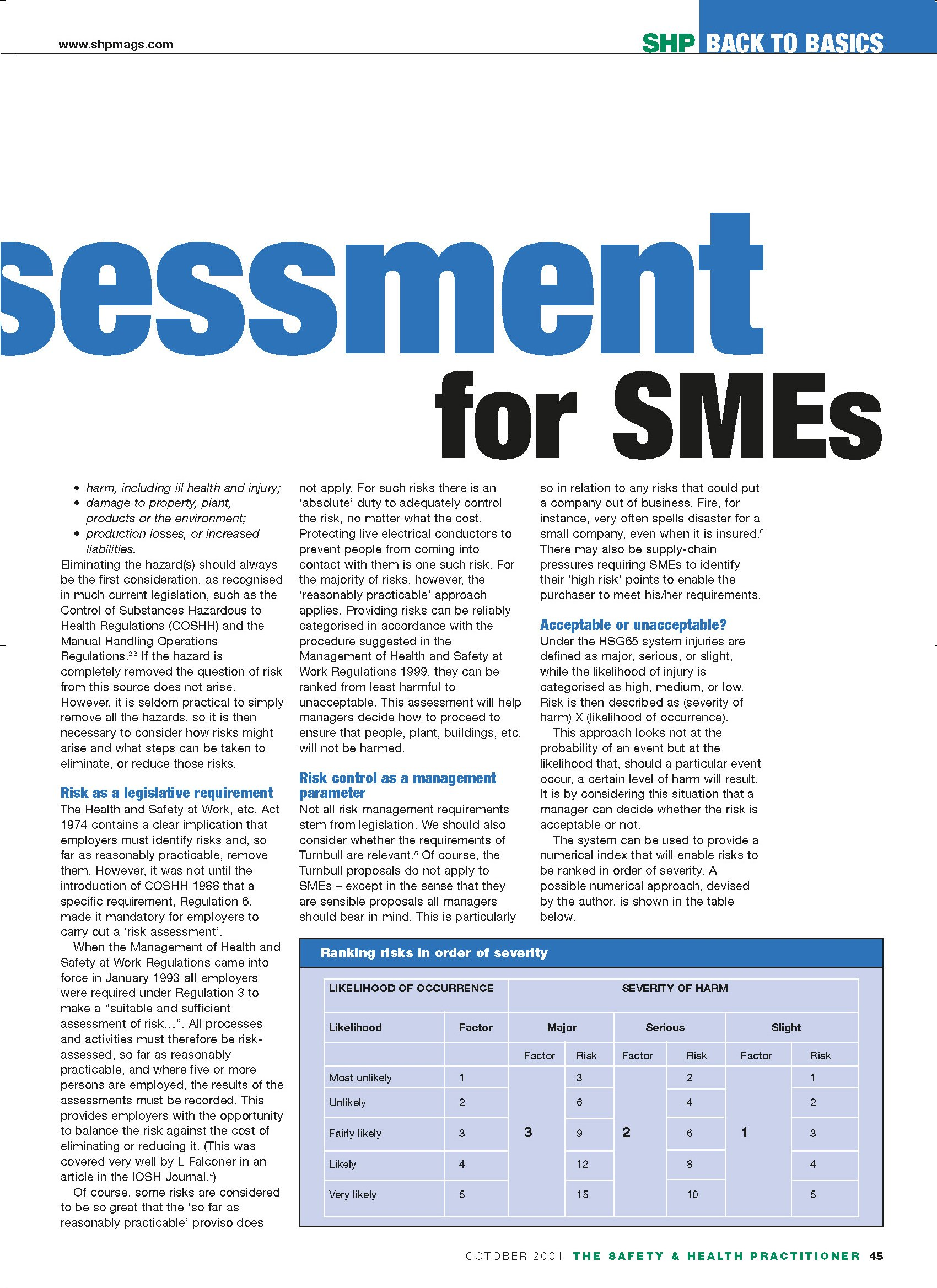 credit risk assessment of smes Students will gain essential credit risk assessment knowledge to support them in  making informed and prudent decisions in response to sme applications for.