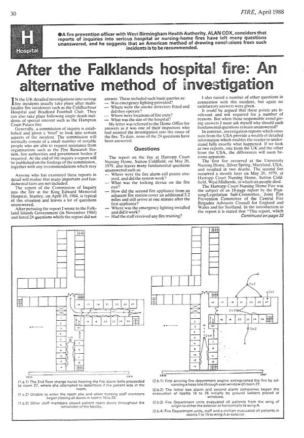 Fatal fire investigation and an amazing coincidence