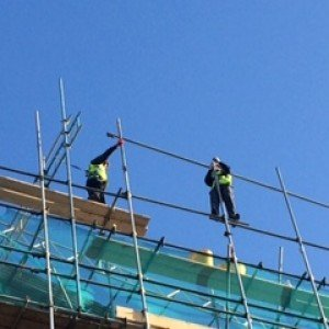 image - Scaffolder receives two suspended sentences after passer-by films breaches