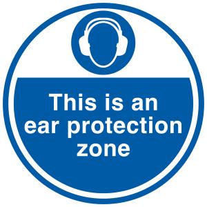 Ear Defender Sign