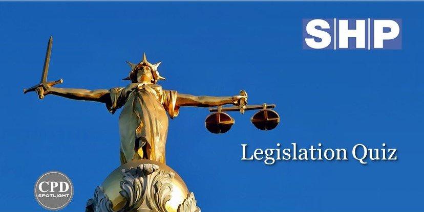 Legislation quiz cover