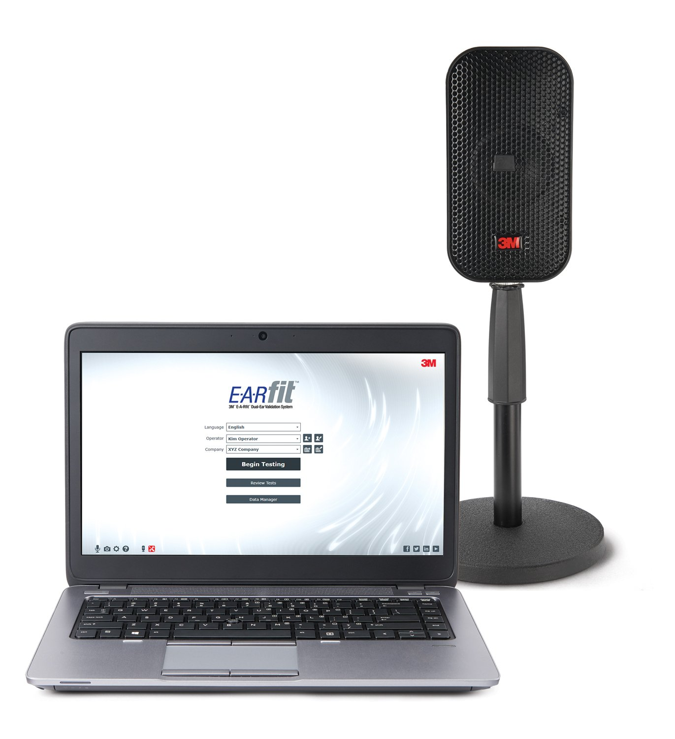 EARfit Dual-Ear Home Screen-Laptop and Speaker-Stand