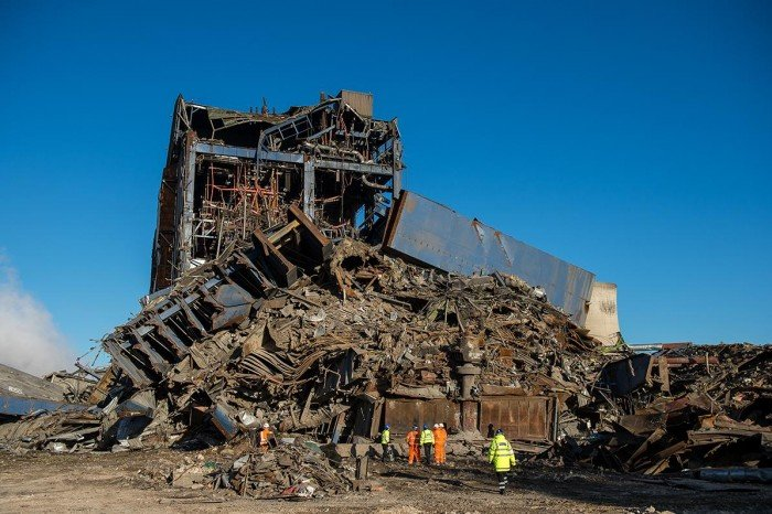Body Found At Collapsed Didcot Power Station, Six Months On