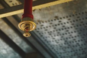 Sprinklers in schools