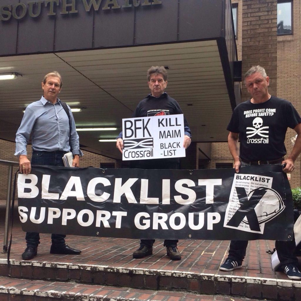 BSG at Crossrail protest