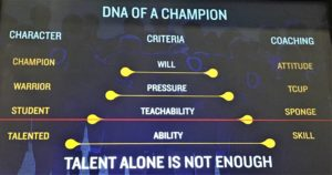 DNA of a Champion