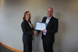 Tina McGennity Employee of the Year