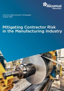 Alcumus - Mitigating Contractor Risk in the Manufacturing Industry
