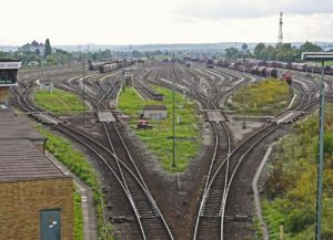 rail freight yard