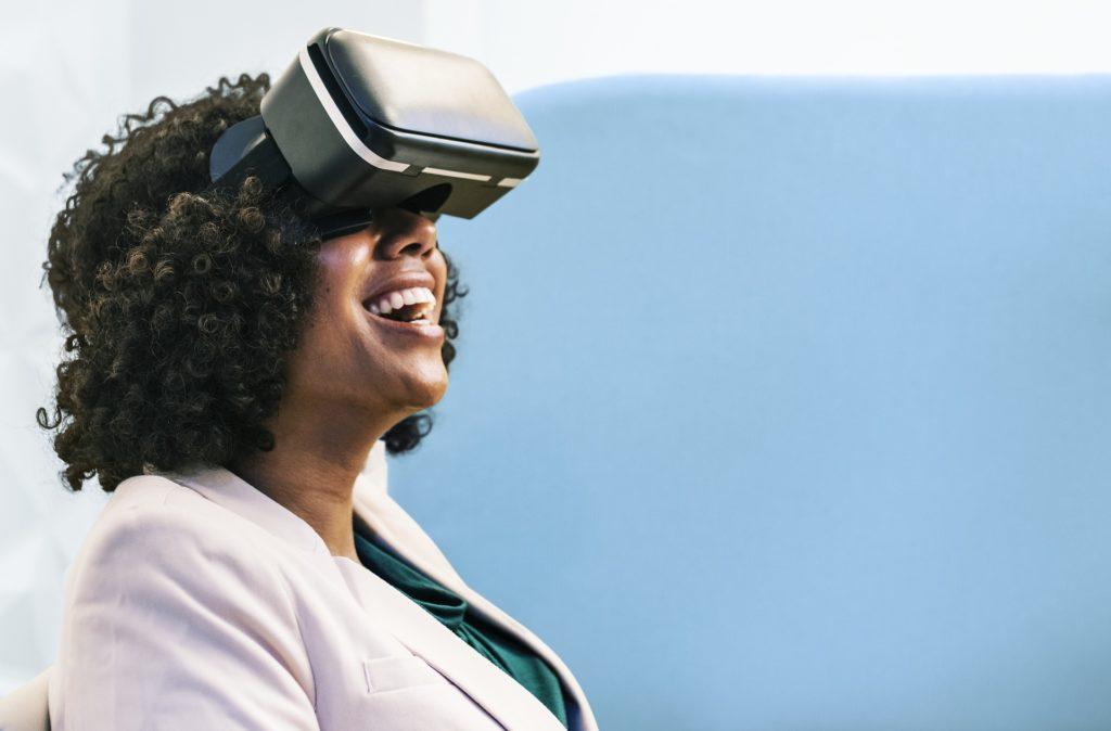 VR headset for safety technology innovation