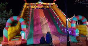 Inflatable slide Woking Fireworks