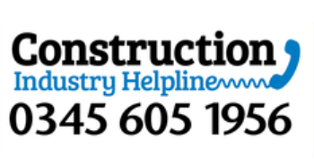 Construction industry helpline logo