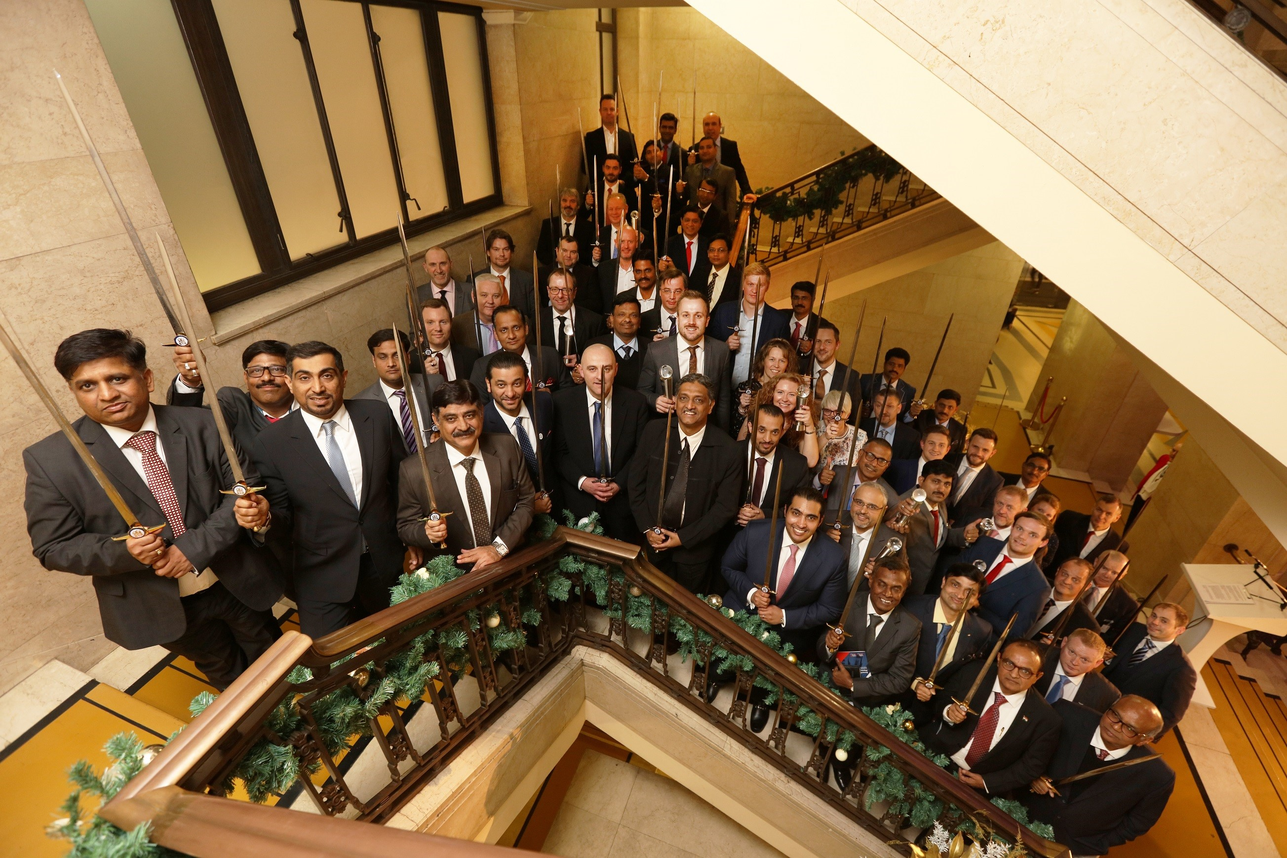 British Safety Council Sword of Honour group photo