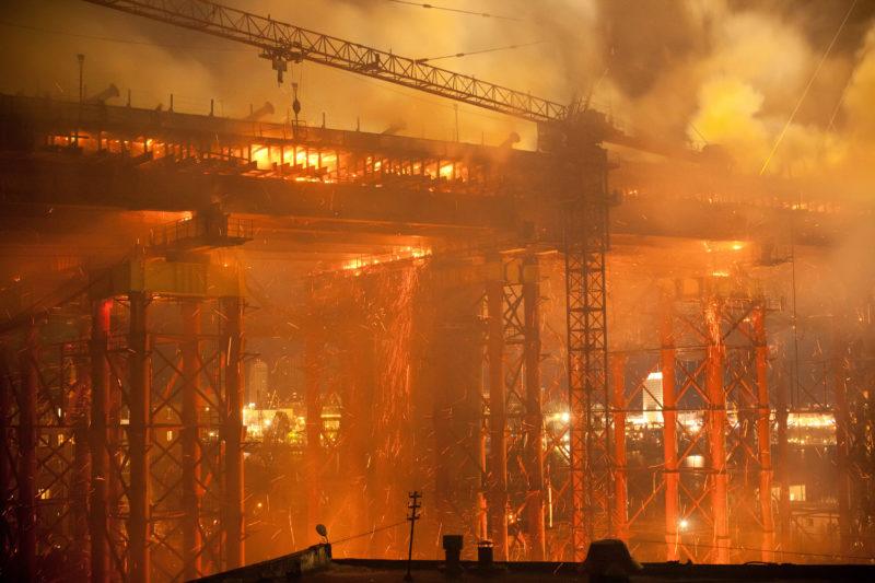construction fire