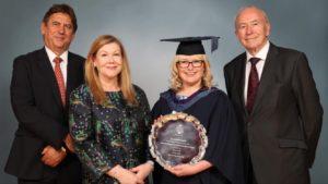 Vanessa Hill NEBOSH Award Picture