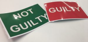 Guilty Not Guilty