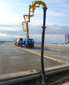 Company failed to manage concrete pumping risk on Port of Felixstowe project