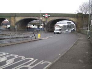 Brent Cross viaduct