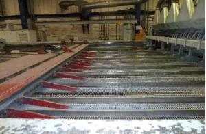 Worker's leg crushed in welding machine