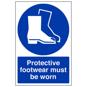 Protective footwear