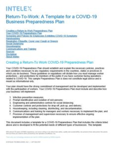 A Template for a COVID-19 Business Preparedness Plan