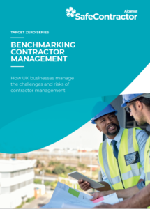 Benchmarking contractor management