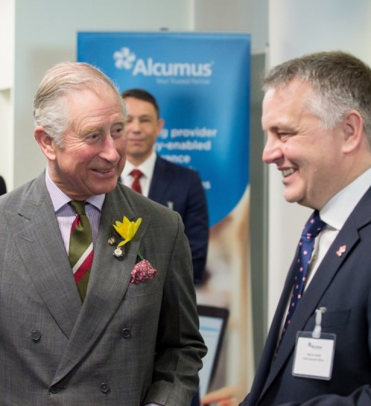 Royal opening of Alcumus' new Head Office