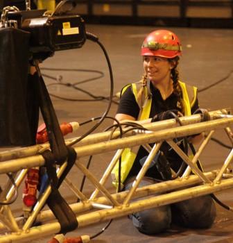 Rigging industry trials live events trailblazer apprenticeship