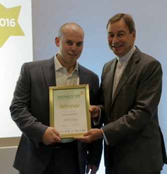 Rising Stars in health and safety collect awards