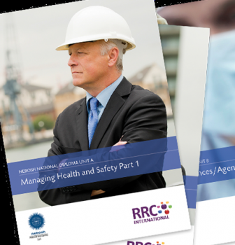 New-specification NEBOSH Diploma courses and materials now available from RRC
