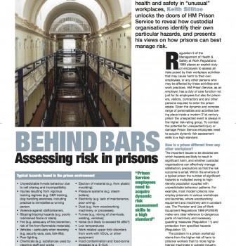 Throwback Thursday: prison risk assessments