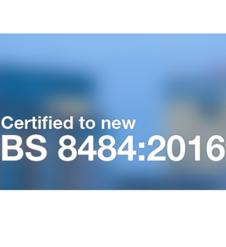Send For Help certified to new BS 8484:2016 Lone Worker Standard