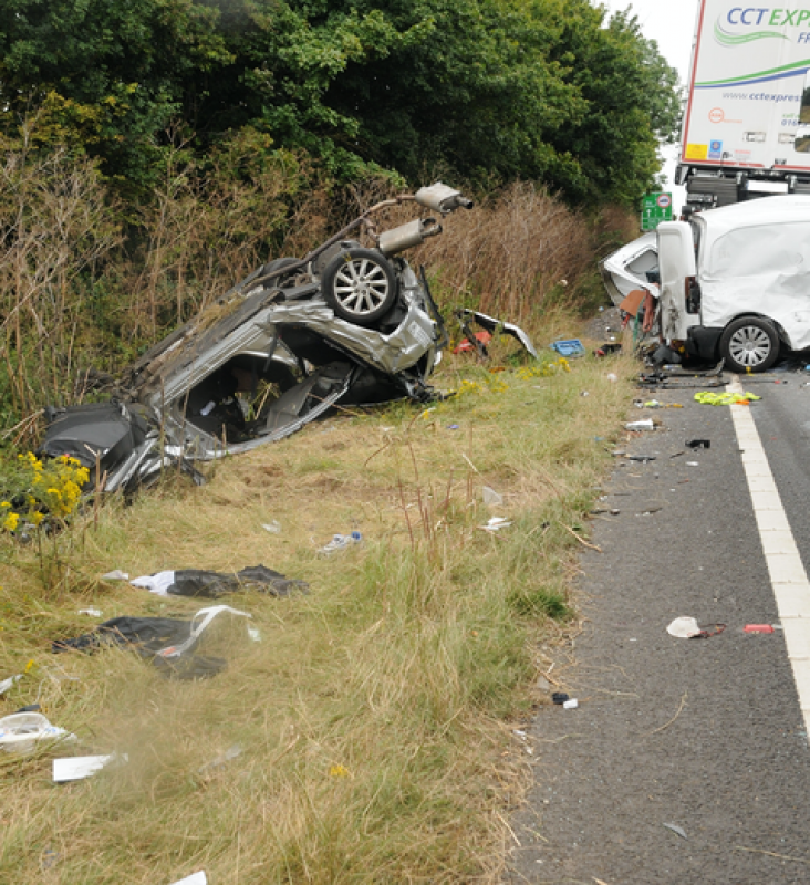 Lorry driver had signed mobile phone declaration hours before crash